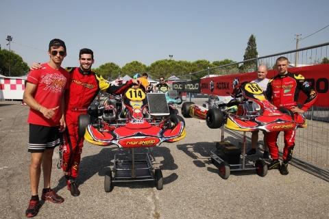 Marco Zanchetta e Marco Pastacaldi al Circuito di Siena